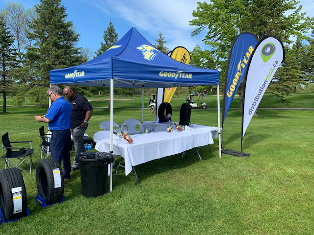Tournoi de golf de la Corporation Mobilis avec Goodyear